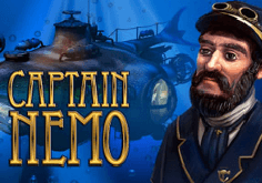 Captain Nemo Pokie Logo