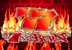 7s To Burn Pokie Logo