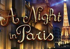 A Night In Paris Pokie Logo