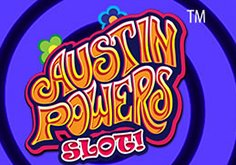 Austin Powers Pokie Logo