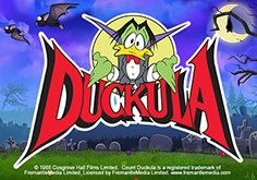 Count Duckula Pokie Logo
