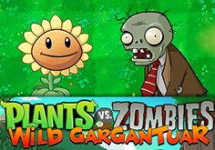 Plants Vs Zombies Pokie Logo