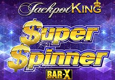 Super Spinner Bar X Pokie Logo