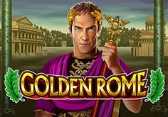 Golden Rome Pokie Logo