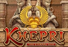 Khepri The Eternal God Pokie Logo
