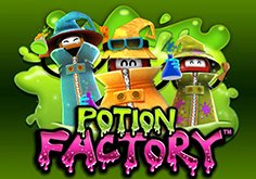 Potion Factory Pokie Logo