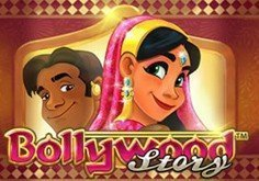 Bollywood Story Pokie Logo