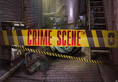 Crime Scene Pokie Logo
