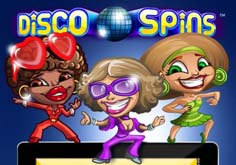 Disco Spins Pokie Logo