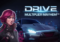 Drive Multiplier Mayhem Pokie Logo