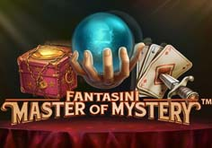 Fantasini Master Of Mystery Pokie Logo