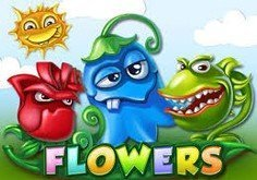 Flowers Pokie Logo