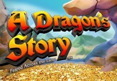 A Dragon Story Pokie Logo