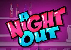 A Night Out Pokie Logo
