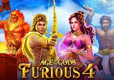 Age Of The Gods Furious 4 Pokie Logo