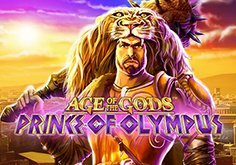 Age Of The Gods Prince Of Olympus Pokie Logo
