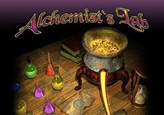 Alchemists Lab Pokie Logo