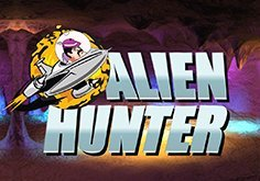 Alien Hunter Pokie Logo