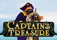 Captains Treasure Pokie Logo
