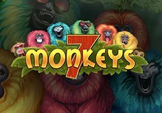 7 Monkeys Pokie Logo