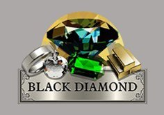 Black Diamond 3 Lines Pokie Logo