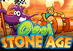 Cool Stone Age Pokie Logo