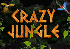Crazy Jungle Pokie Logo