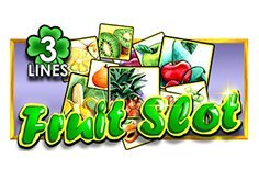 Fruit Slot 3 Lines Pokie Logo