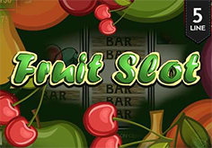 Fruit Slot 5 Lines Pokie Logo