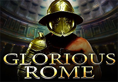 Glorious Rome Pokie Logo