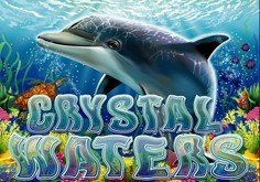 Crystal Waters Pokie Logo