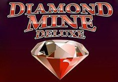 Diamond Mine Deluxe Pokie Logo