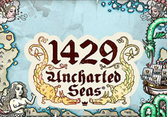 1429 Uncharted Seas Pokie Logo