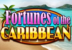 Fortunes Of The Caribbean Pokie Logo