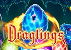 Draglings Pokie Logo