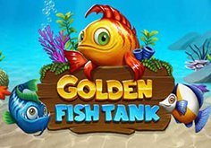 Golden Fish Tank Pokie Logo