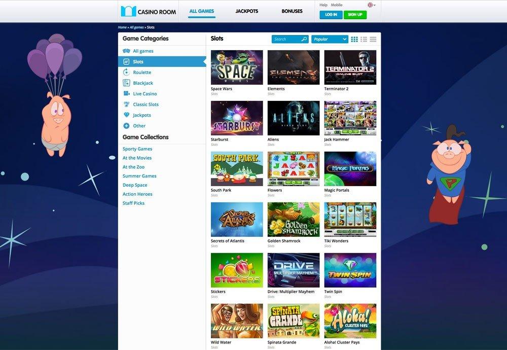 Casino Room App