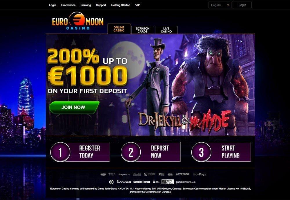 Euromoon Casino Bonus