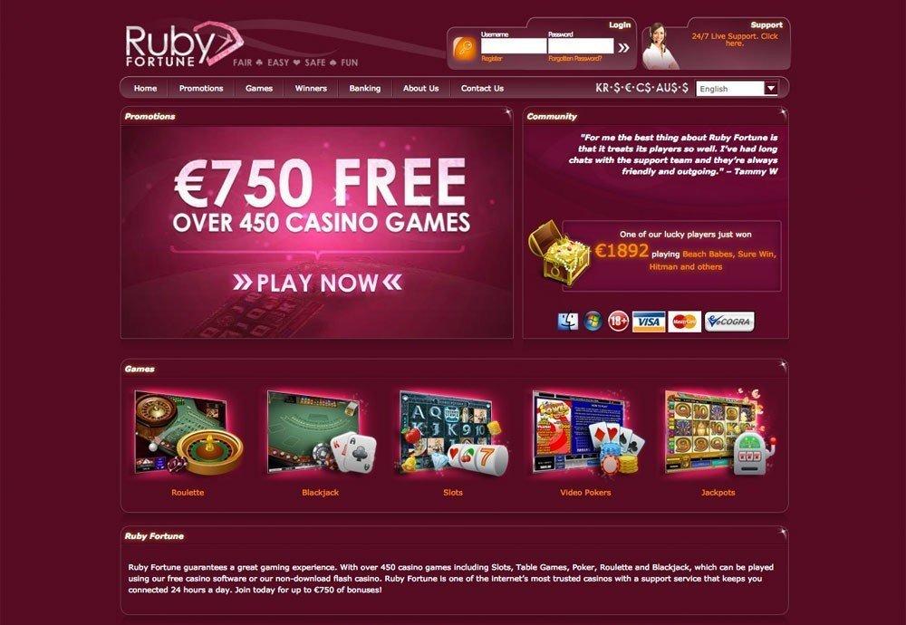 Online Pokies Ruby Fortune
