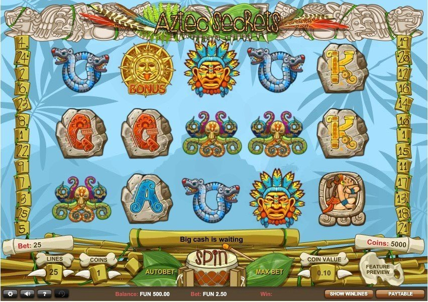 Aztec Secrets Pokie