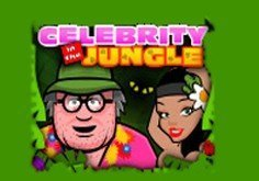 Celebrity In The Jungle Pokie Logo