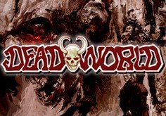 Deadworld Pokie Logo