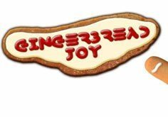 Gingerbread Joy Pokie Logo
