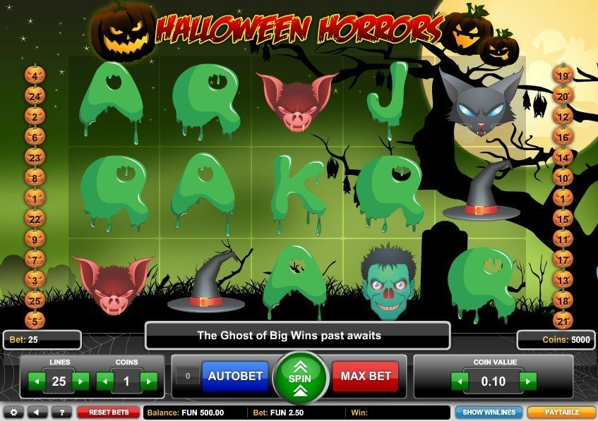 Halloween Horrors Pokie