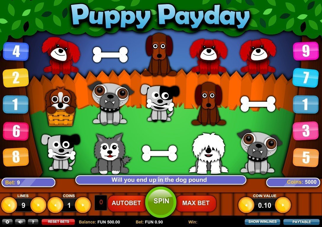 Puppy Payday Pokie