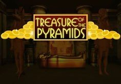 Treasure Of The Pyramids Pokie Logo