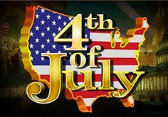 4th Of July Pokie Logo