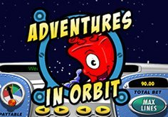 Adventures In Orbit Pokie Logo