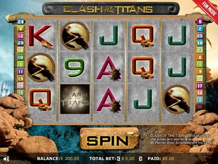 Clash Of The Titans Pokie
