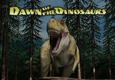 Dawn Of The Dinosaurs Pokie Logo